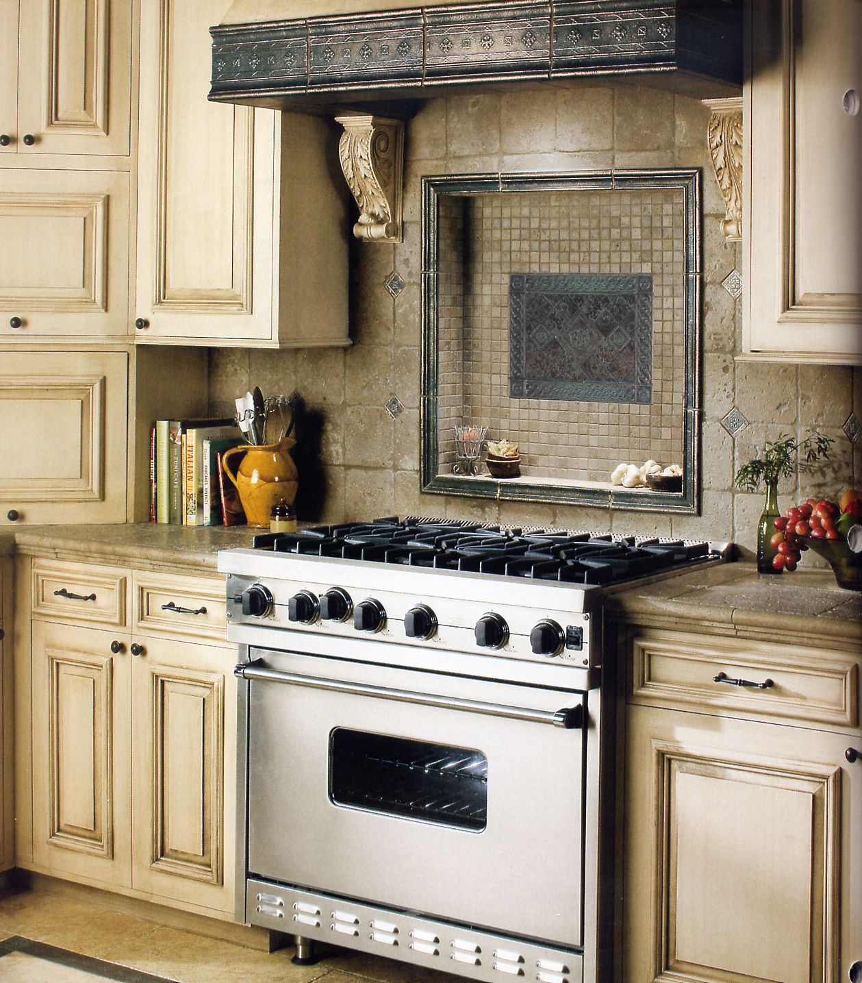 Kitchen Design Range Hood: Kitchen Hood With Regard To Kitchen Vent Hood Inserts How