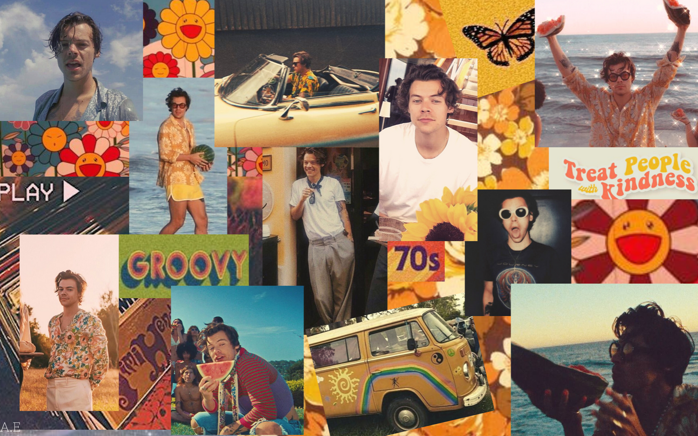 Aesthetic Harry Styles Laptop Wallpaper