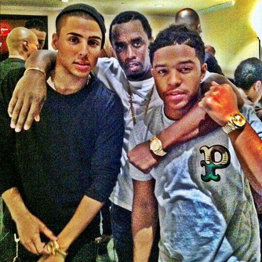 Justin Dior Combs , Quincy and Diddy