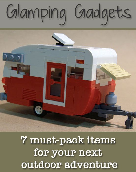 Glamping for all! These gadgets will help you not just survive, but enjoy the great outdoors.