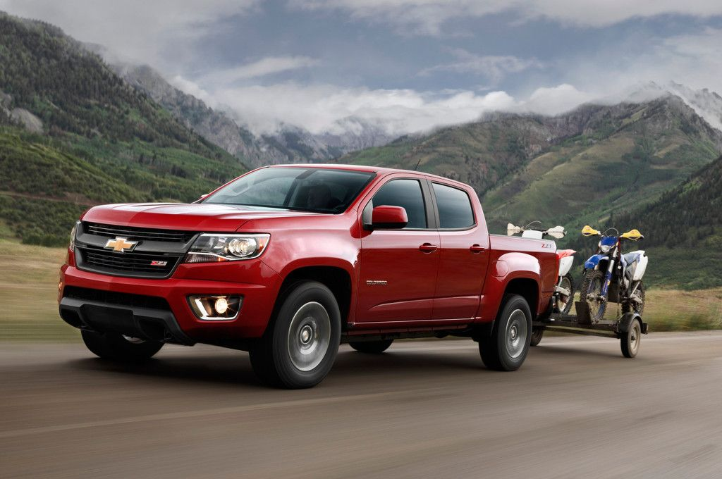 #Chevrolet Colorado: The Small Pickup With Big Heart