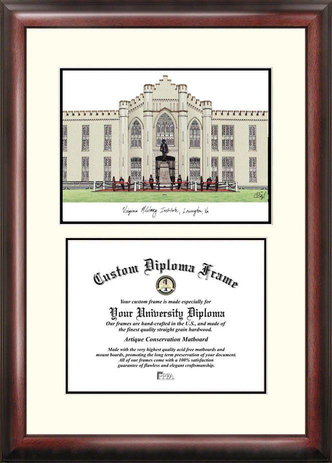 7 Piece Abner Picture Frame Set Diploma Frame Kent State University Hampton University