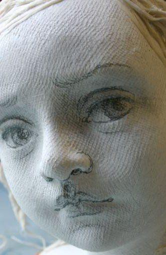 Текстильные куклы от Susie McMahon + фото процесса ...