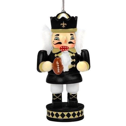 New Orleans Saints Nutcracker with Football Ornament | New ...