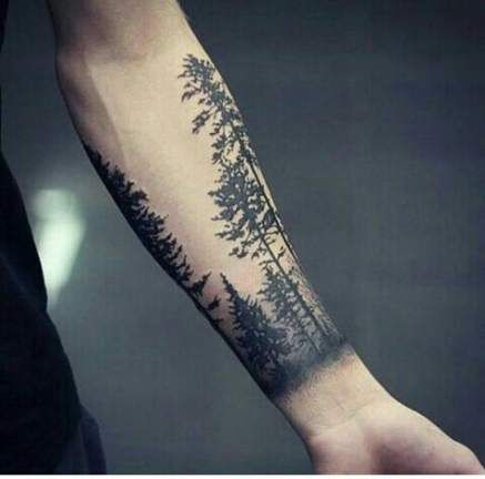 Photo of 57+ New ideas for tattoo arm men nature tree tat –   – #Arm #constellationtattoo…