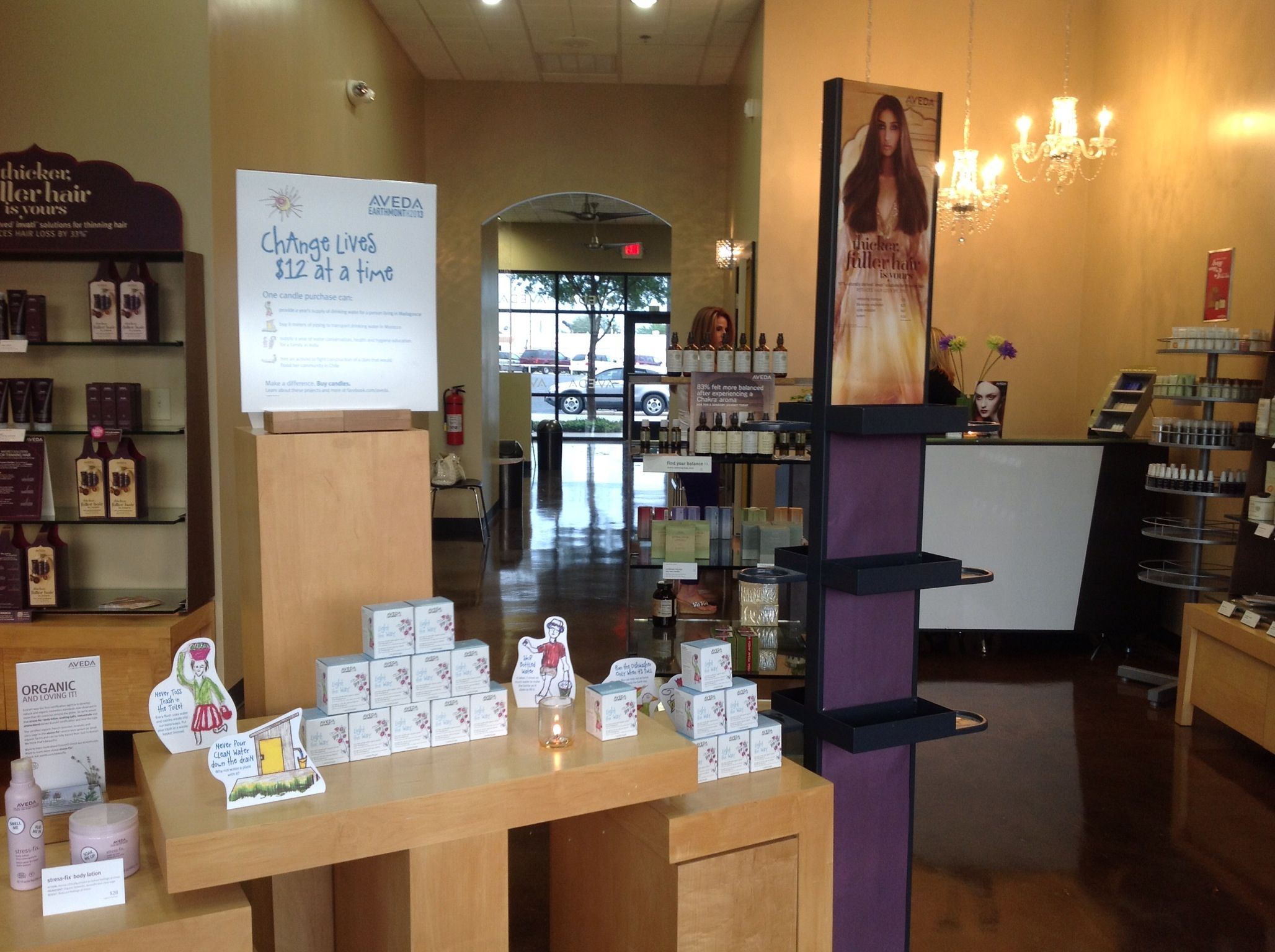 My Aveda salon in Arlington. Maren Karsen Salon. 200 N. Mesquite St. Arlington, Tx. 76011 817-275-8686