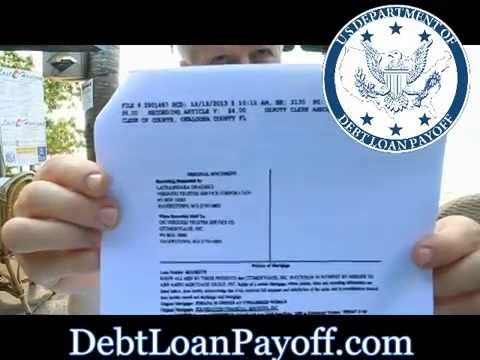 promissory note to pay debt