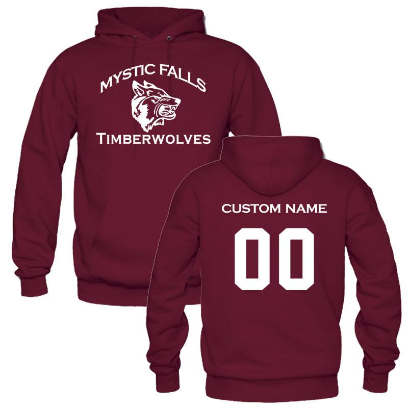 >> Click to Buy << CUSTOM YOUR NAME AND NUMBER of Mystic Falls Vampire Diaries Salvatore Men Womens Hoodies Sweatshirt personalized pullover shirt #Affiliate