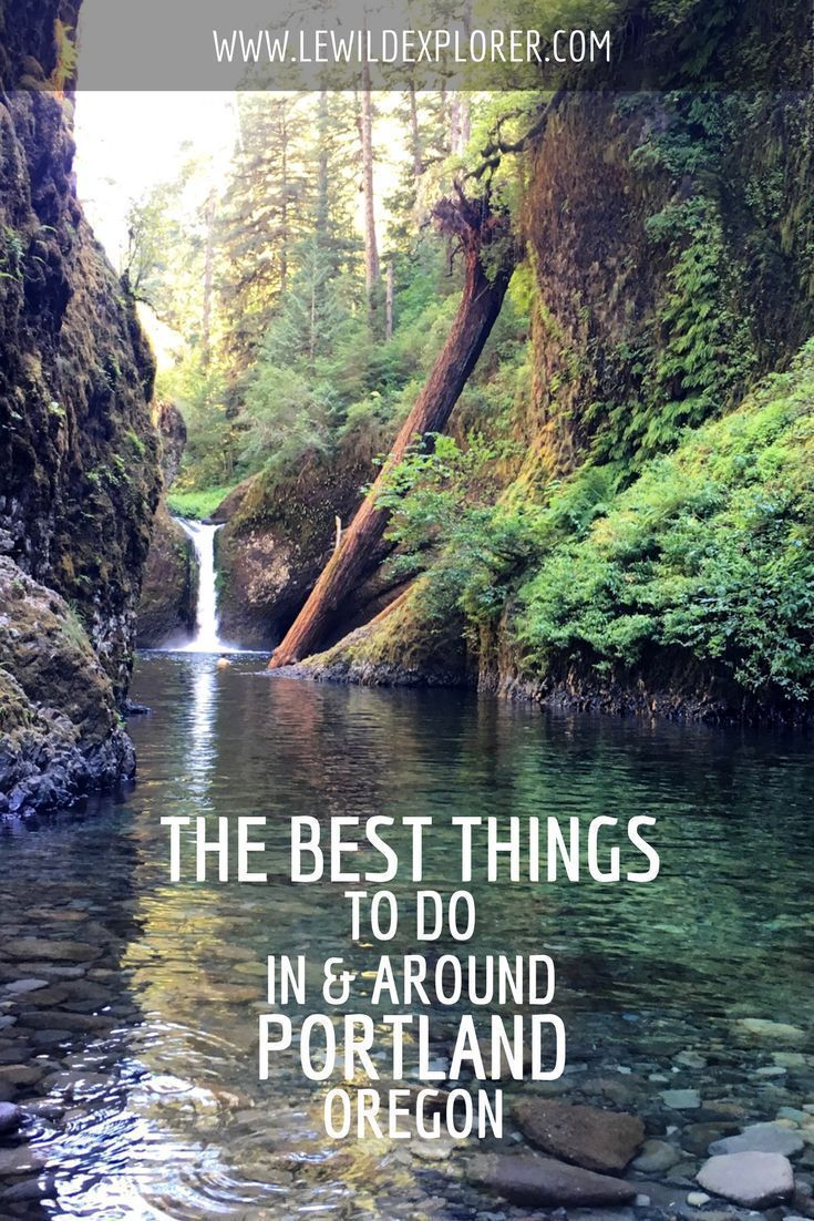 The Best Things To Do in Oregon, In and Around Portland | Le Wild Explorer