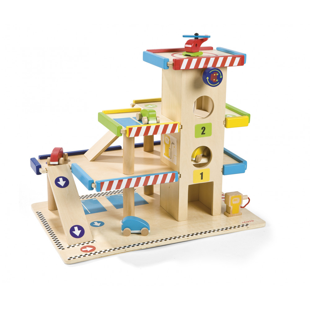 Garage Toy garage, Wooden toy garage, Wooden garage