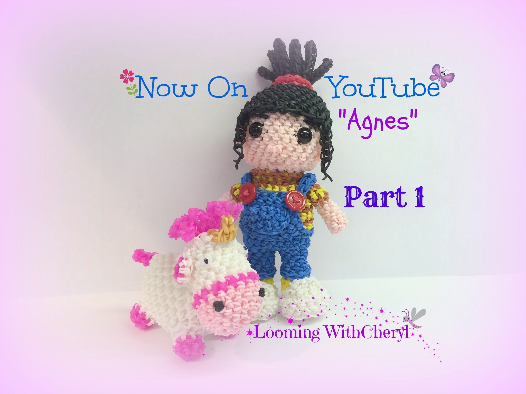 Amigurumi Loom Patterns : Rainbow loom agnes doll part 1 of 2 now on youtube loomigurumi