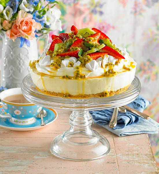 Pavlova Cheesecake Recipe Better Homes And Gardens