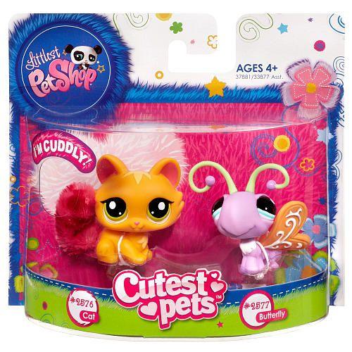 Littlest Pet Shop Favorite Pets Cat And Butterfly Hasbro Toys R Us Little Pets Pet Shop Lps Pets