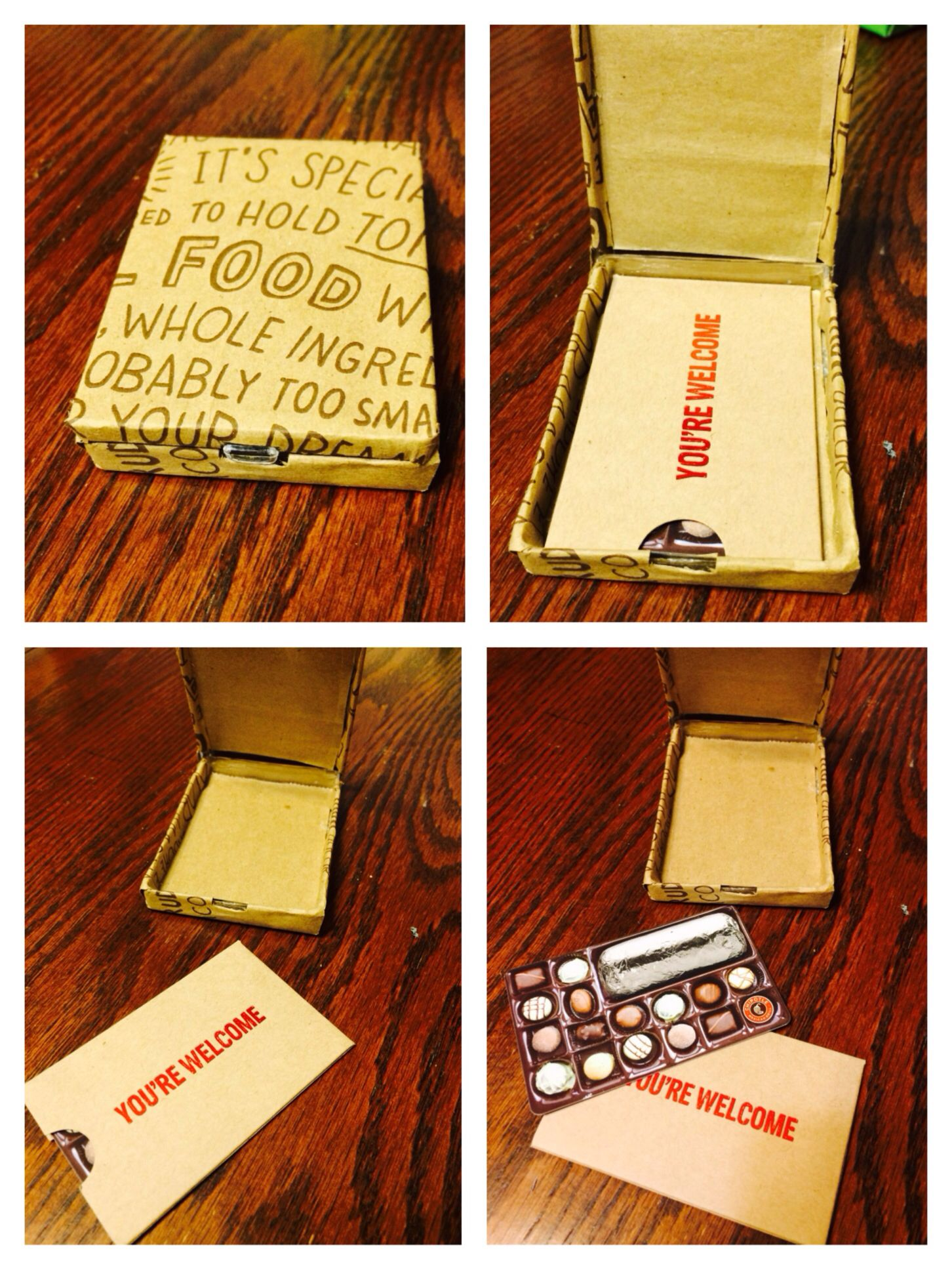 Valentines Day Chipotle Gift Card DIY Holder Paperclip Box And A Bag 3