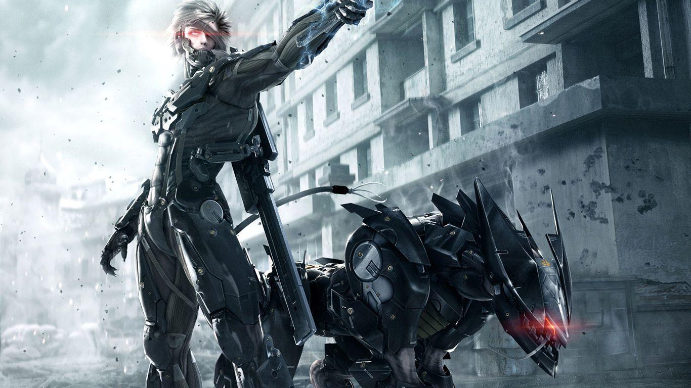 388060.jpg (1366×768) Metal Gear Rising: Revengeance - Raiden and Blade Wolf