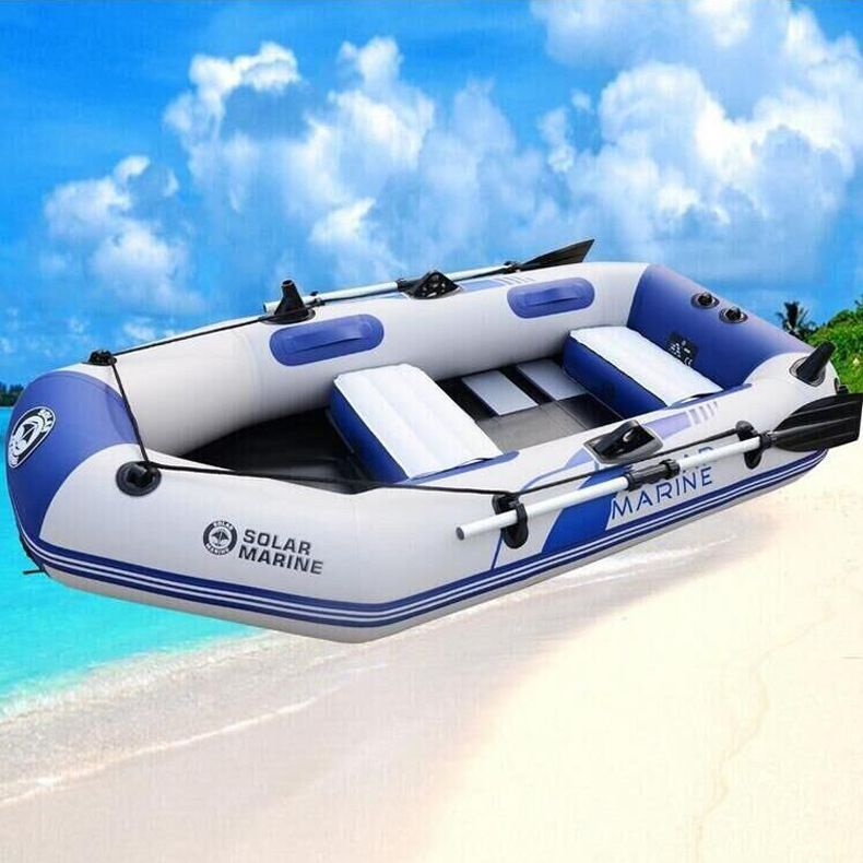 Boats Rowing Wear 3 Adult Hard Bottomed Inflatable Boat