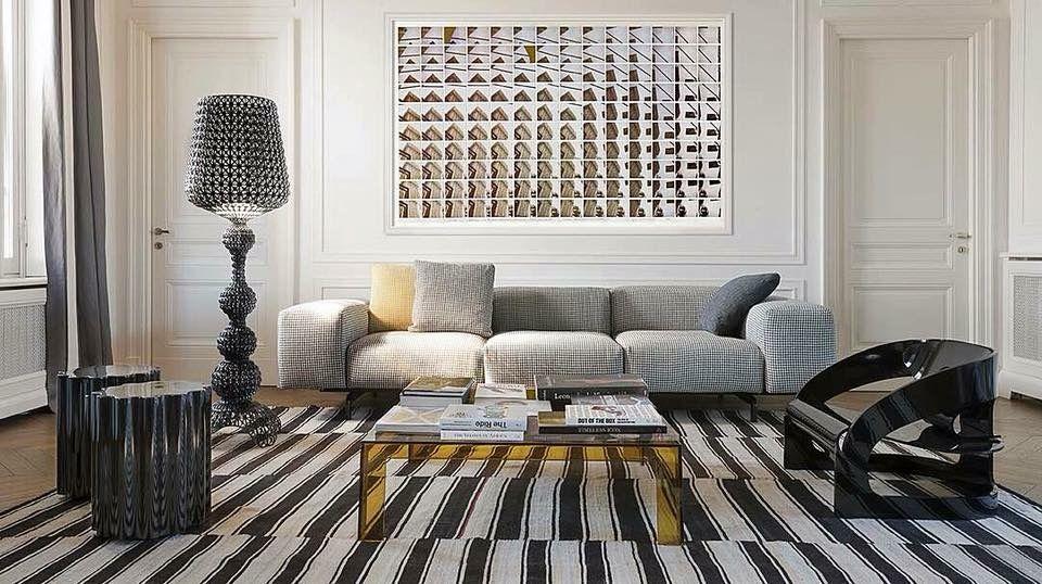 Kartell, made in Milano: Largo sofa by P. Lissoni. Joe Colombo ...