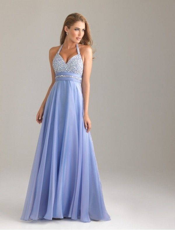 Chiffon Sweetheart Neckline Column Prom Dress with Beading Bodice ...