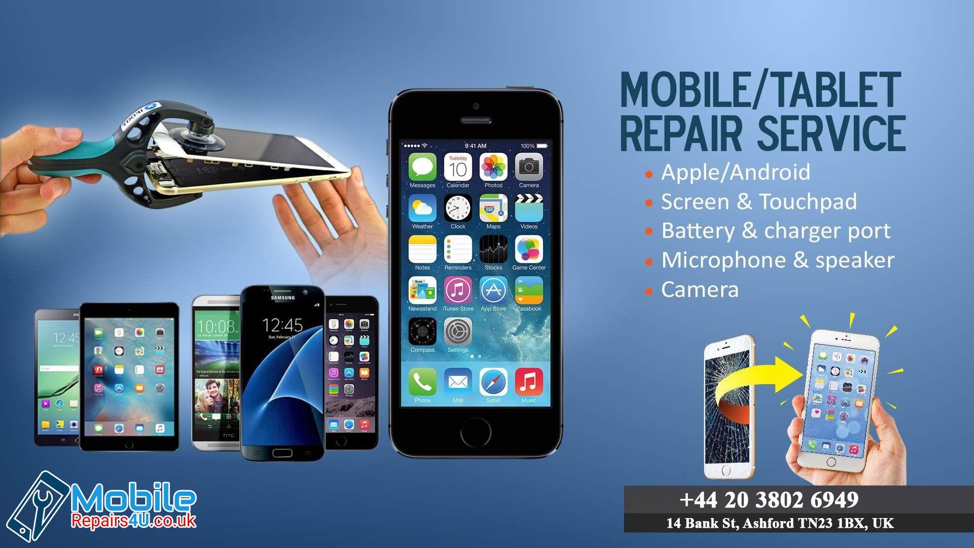 Mobile Tablet Repair services MobileRepairs4U Mobile