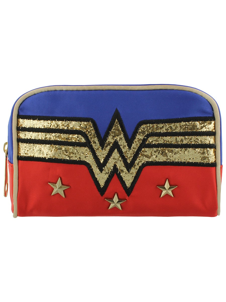 Wonder Woman Make Up Bag Makeup bag, Bags, Blue accessories