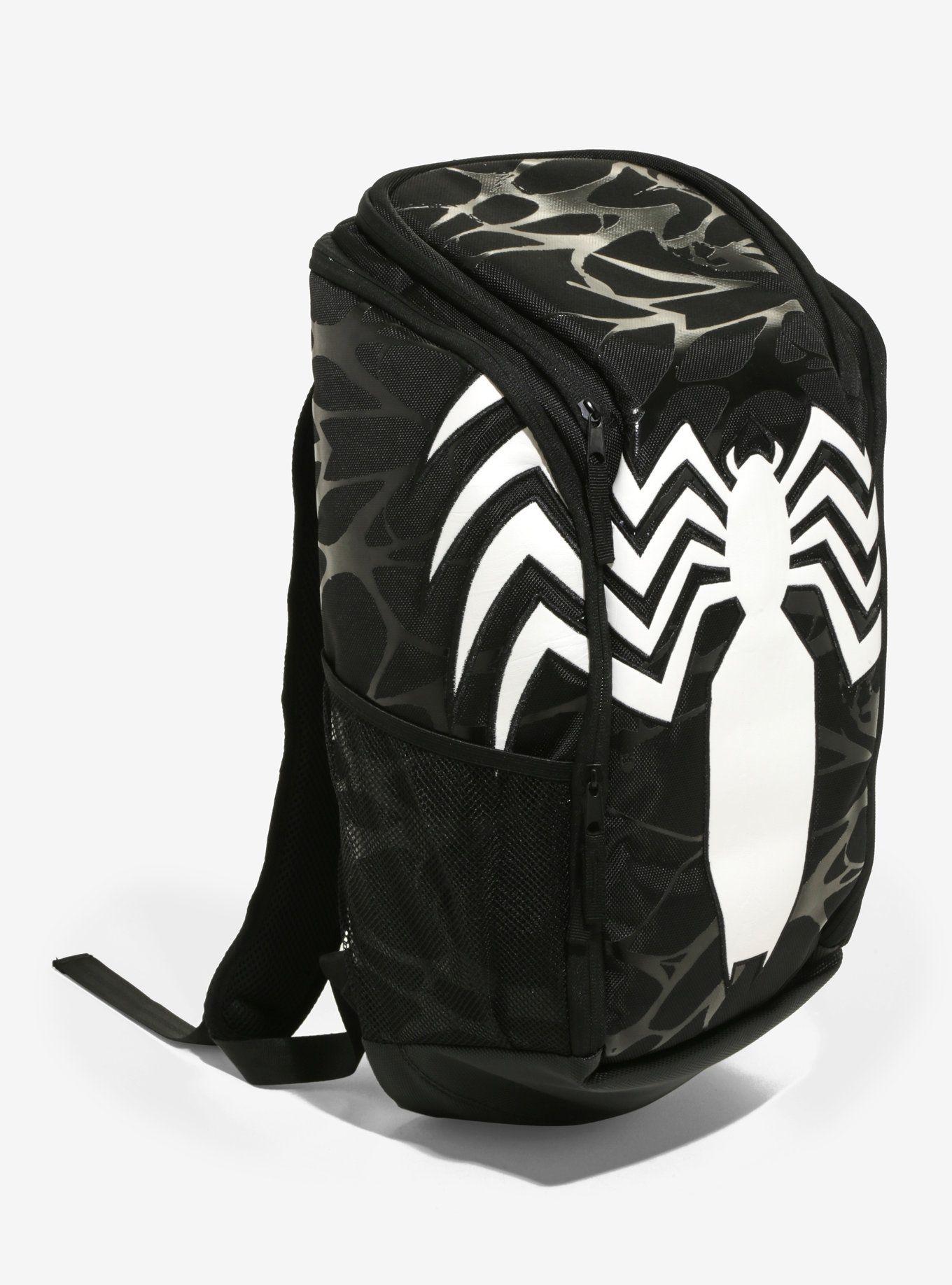 5860f8c811ae20 Marvel Venom Built-Up Backpack, Marvel Venom Built-Up Backpack White Venom,