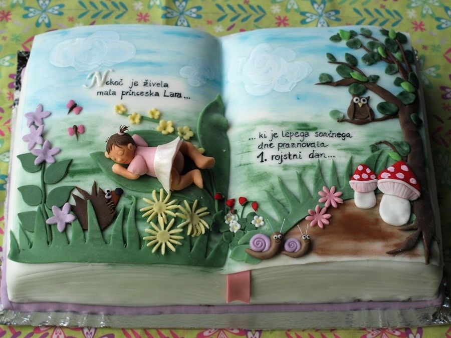 Fairytale book cakes fairy tale cake   Children s ...