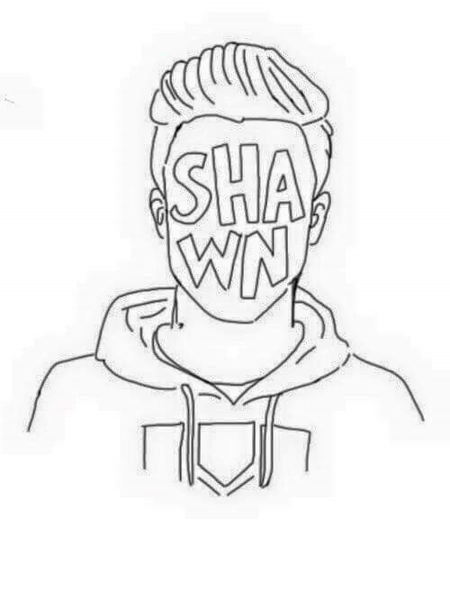 Pin By Lua On Shawn Mendes Easy Drawings Shawn Mendes Wallpaper Shawn Mendes Album