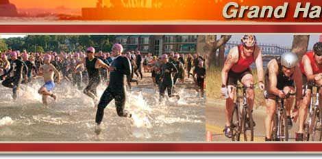 Great race.........with the swim in Lake Michigan!