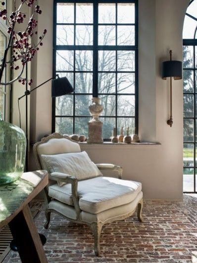 style ancien pour une maison neuve planete deco a homes worldplanete deco a homes world. Black Bedroom Furniture Sets. Home Design Ideas
