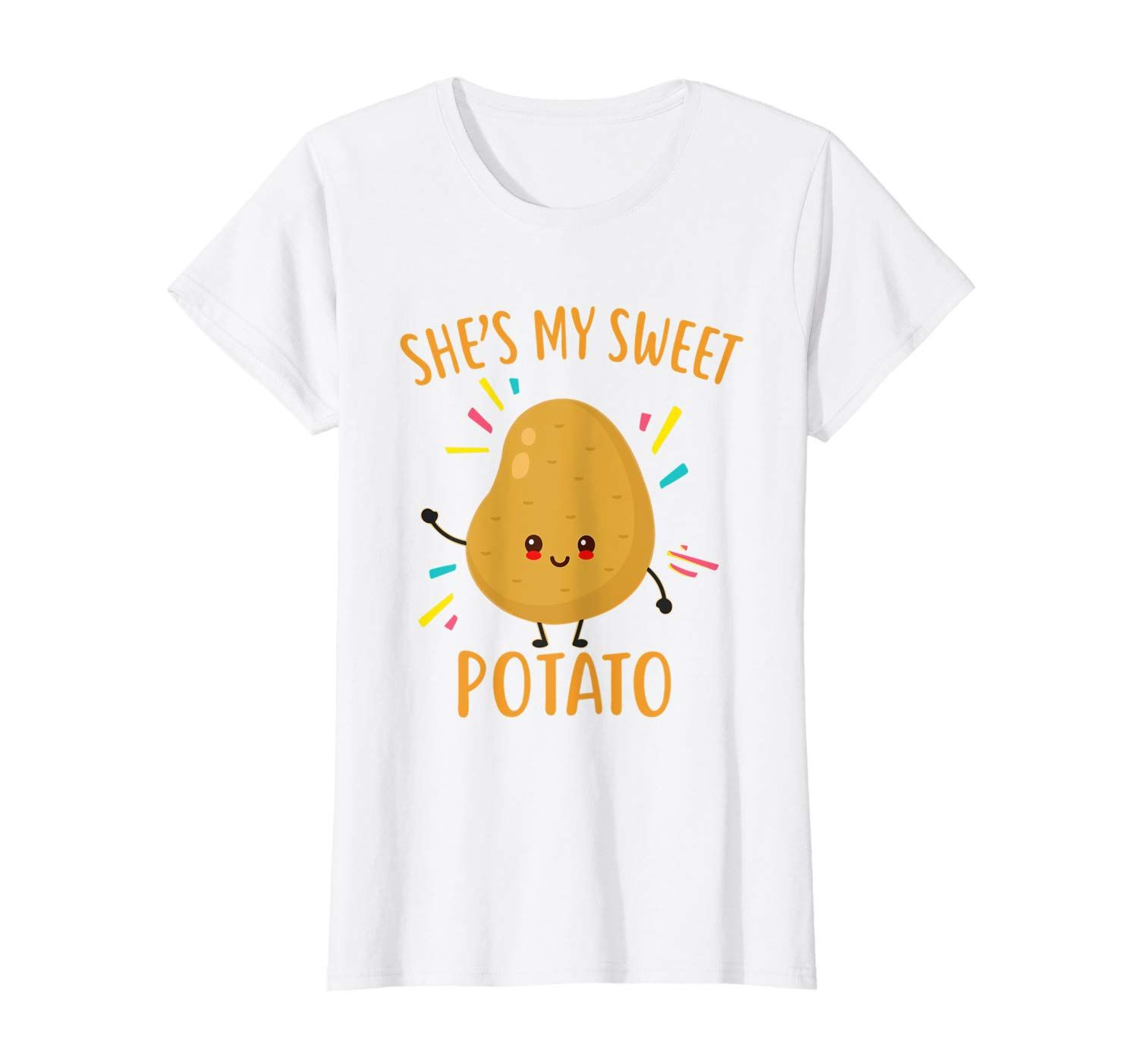 She's My Sweet Potato Couples Goals Thanksgiving Gifts T-Shirt