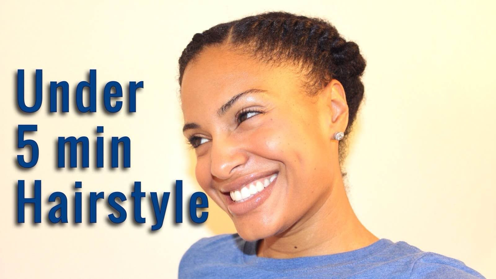 Easy protective hairstyle in min or less qhemet biologics
