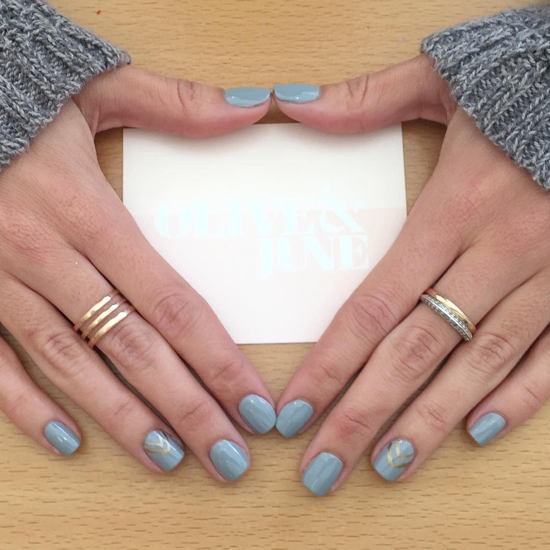 "Olive & June on Instagram ""Loving this greyish blueish"
