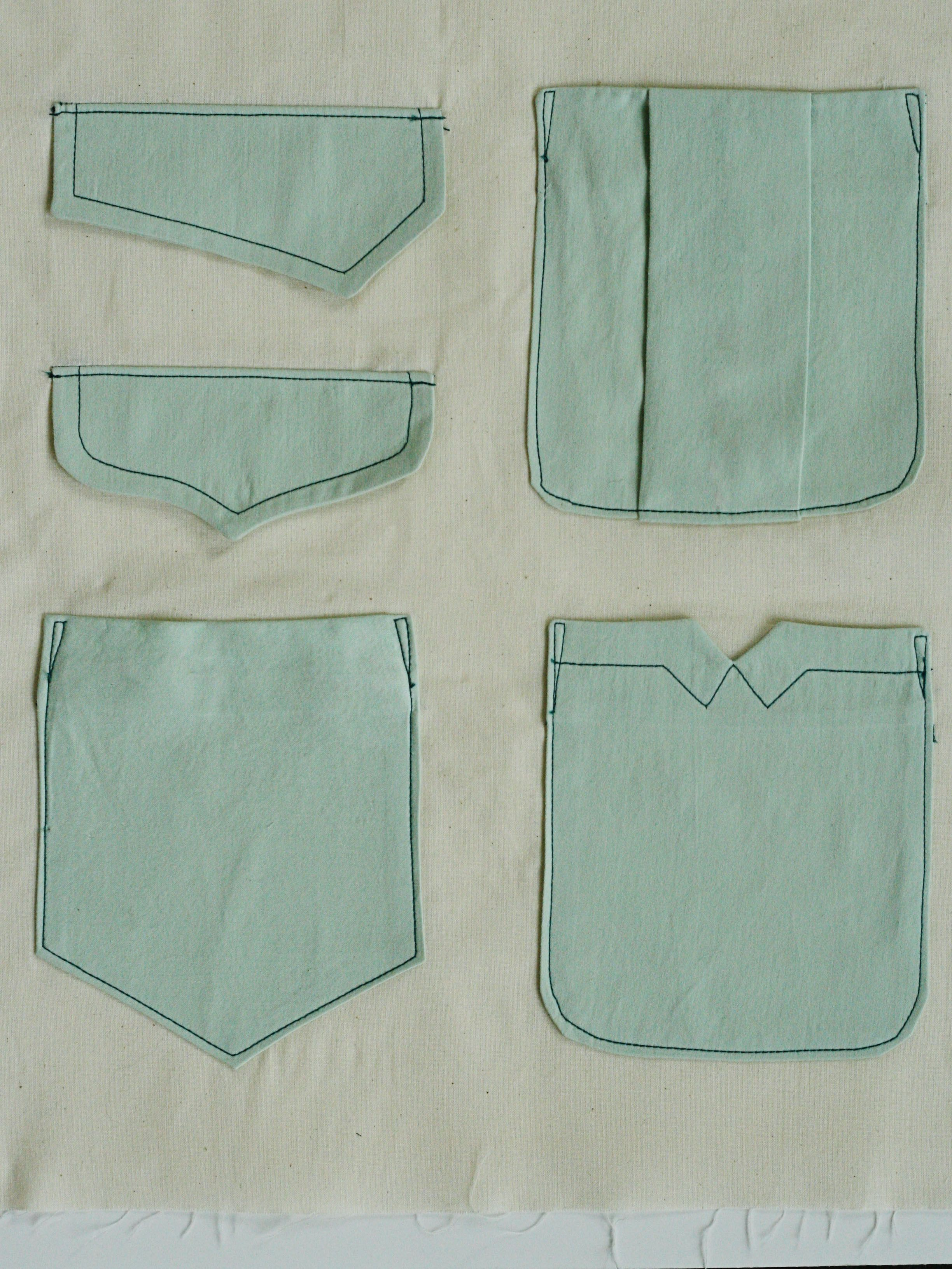 pocket-variations pattern download | Mens shirt makeovers and ...