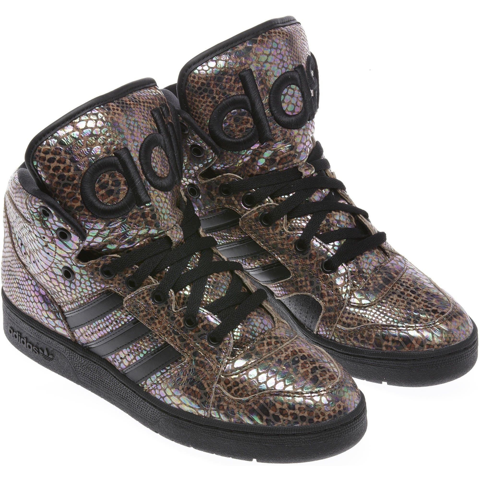 superior quality limited guantity promo codes Adidas Jeremy Scott Instinct Hi Rainbow Shoes #jeremyscott #shoes ...