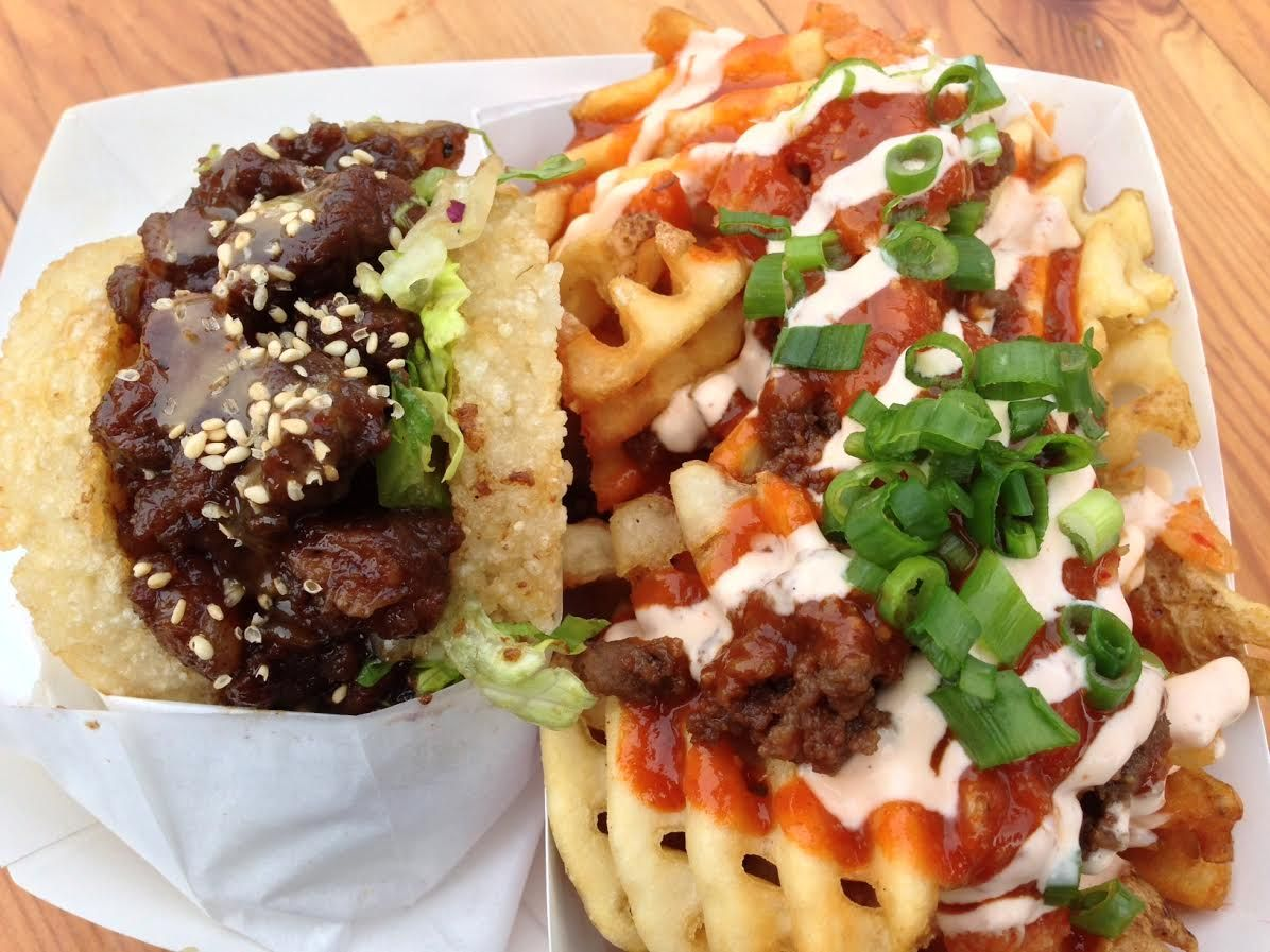 Korean Short Rib Koja And Kamikaze Fries From The Koja Kitchen