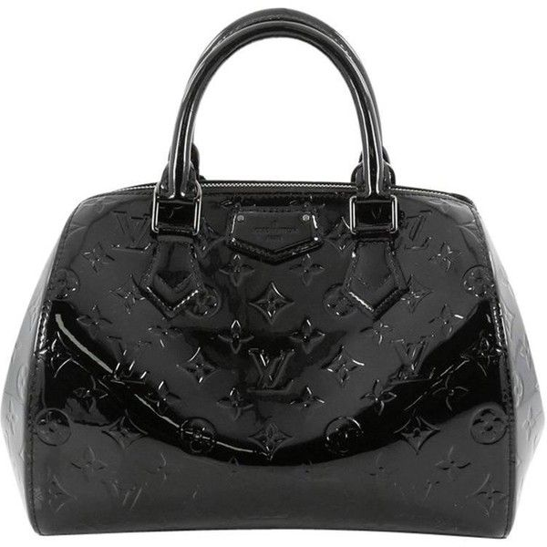06f0872fc1f2 Preowned Louis Vuitton Montana Handbag Monogram Vernis ( 985) ❤ liked on  Polyvore featuring bags