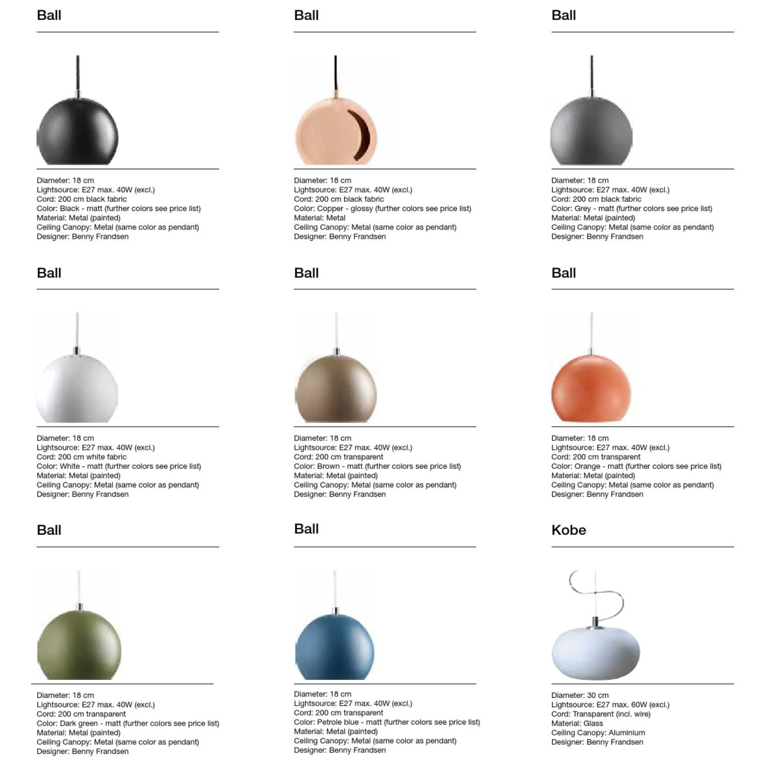 FRANDSEN catalogue SPRING 2013  Lamp Catalogue from FRANDSEN. Spring 2013.