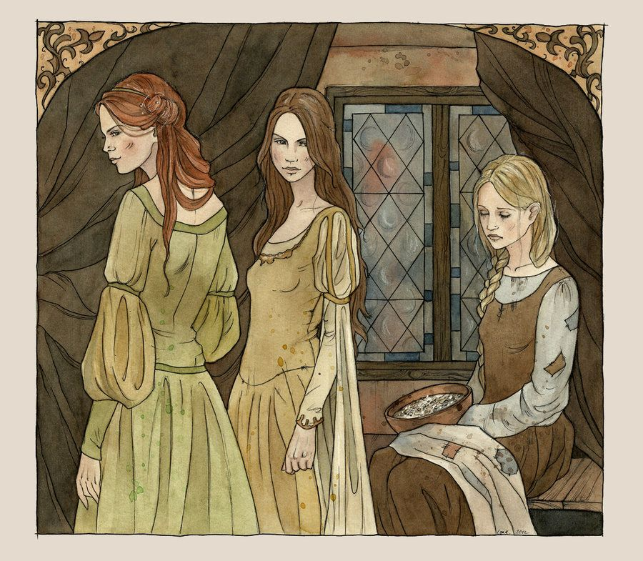 fairy tale and ugly freckled stepsisters The fairy godmother is a  she is 21, when most fairy-tale endings for girls  retelling the tale of cinderella through the eyes of one of her ugly stepsisters.
