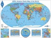 Arrl amateur radio map of the world robinson radio stuff codes arrl amateur radio map of the world robinson gumiabroncs Choice Image