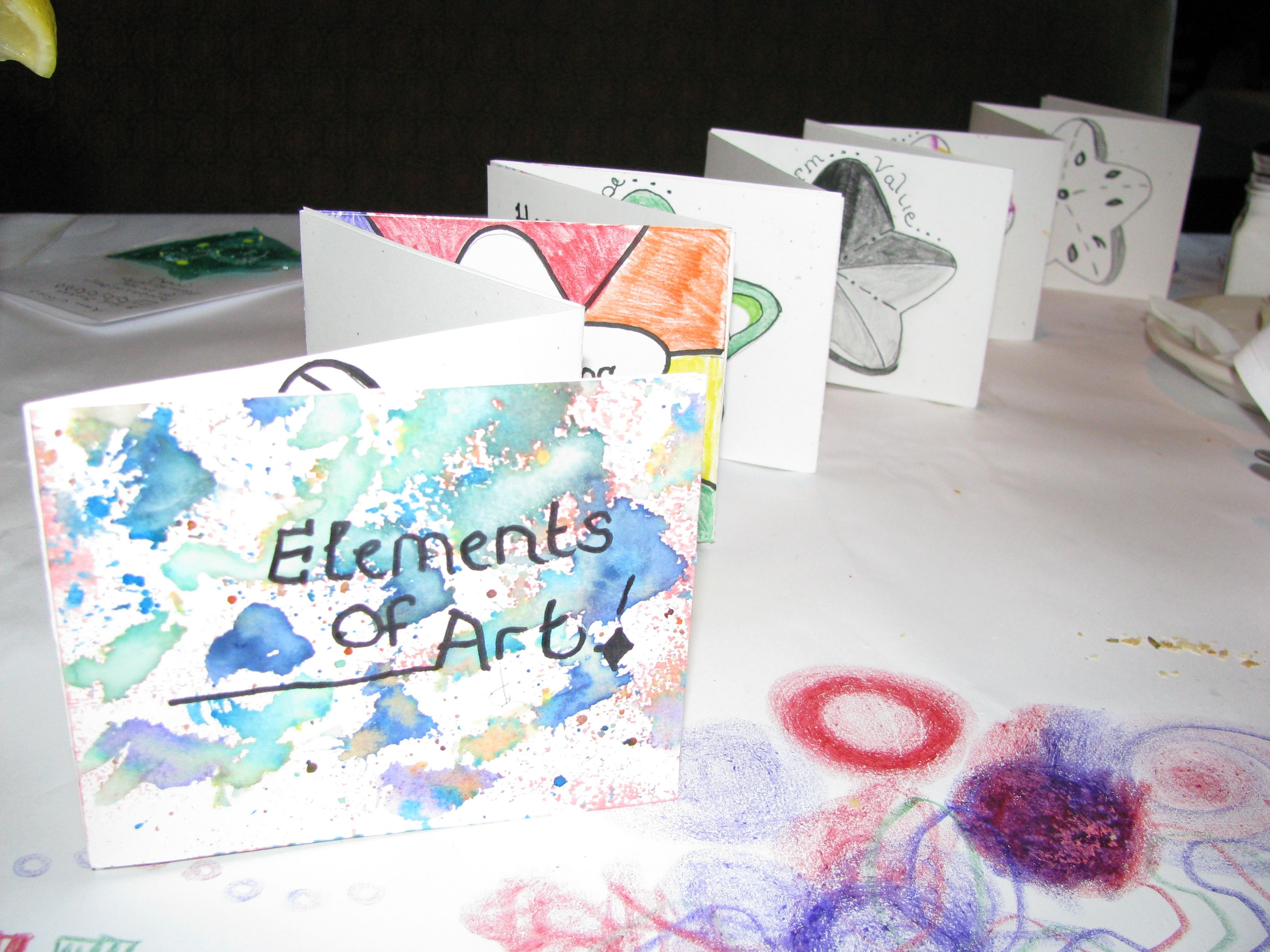 8 Elements Of Visual Arts : St project for junior high books art lessons and