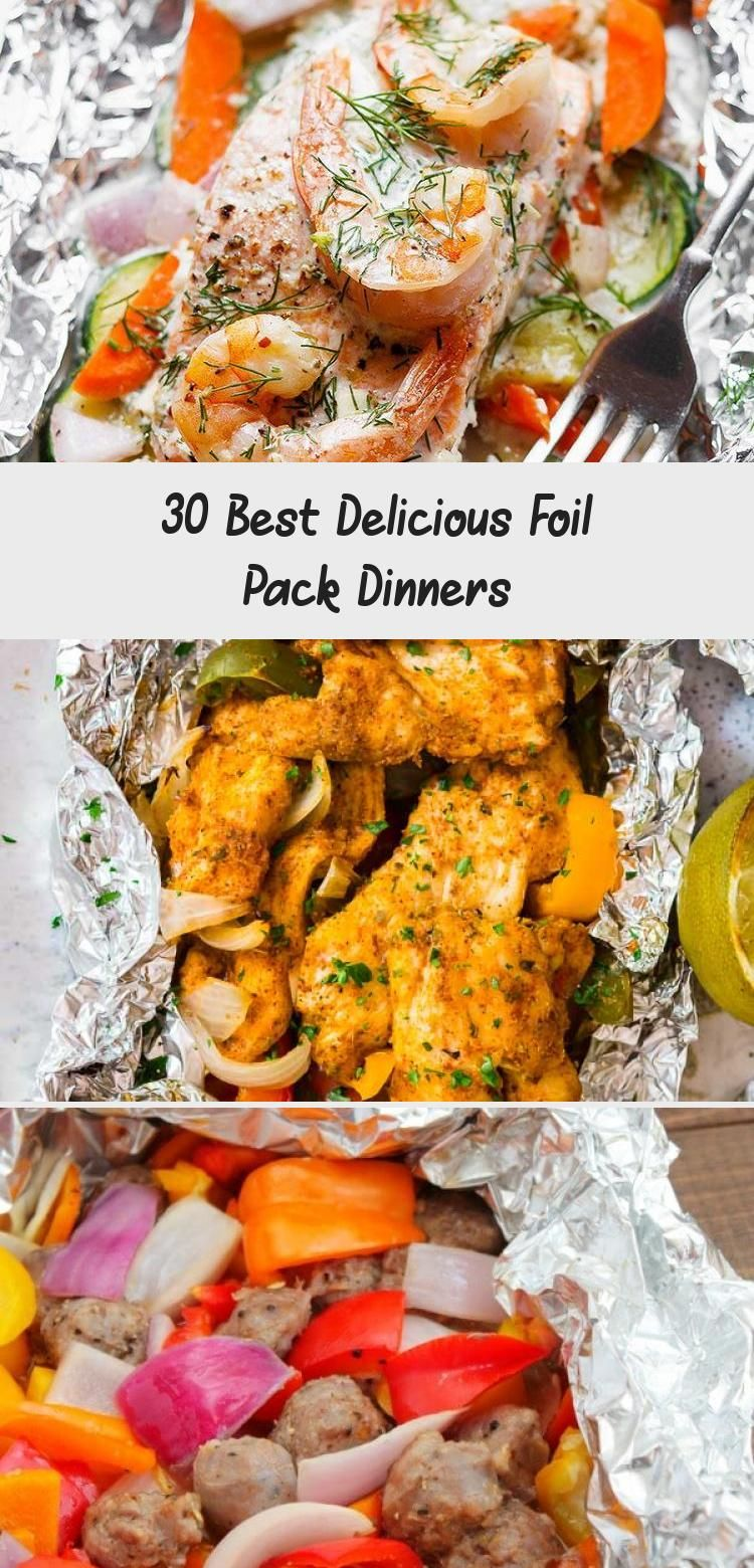 30 Best Delicious Foil Pack Dinners – Meat Recipes