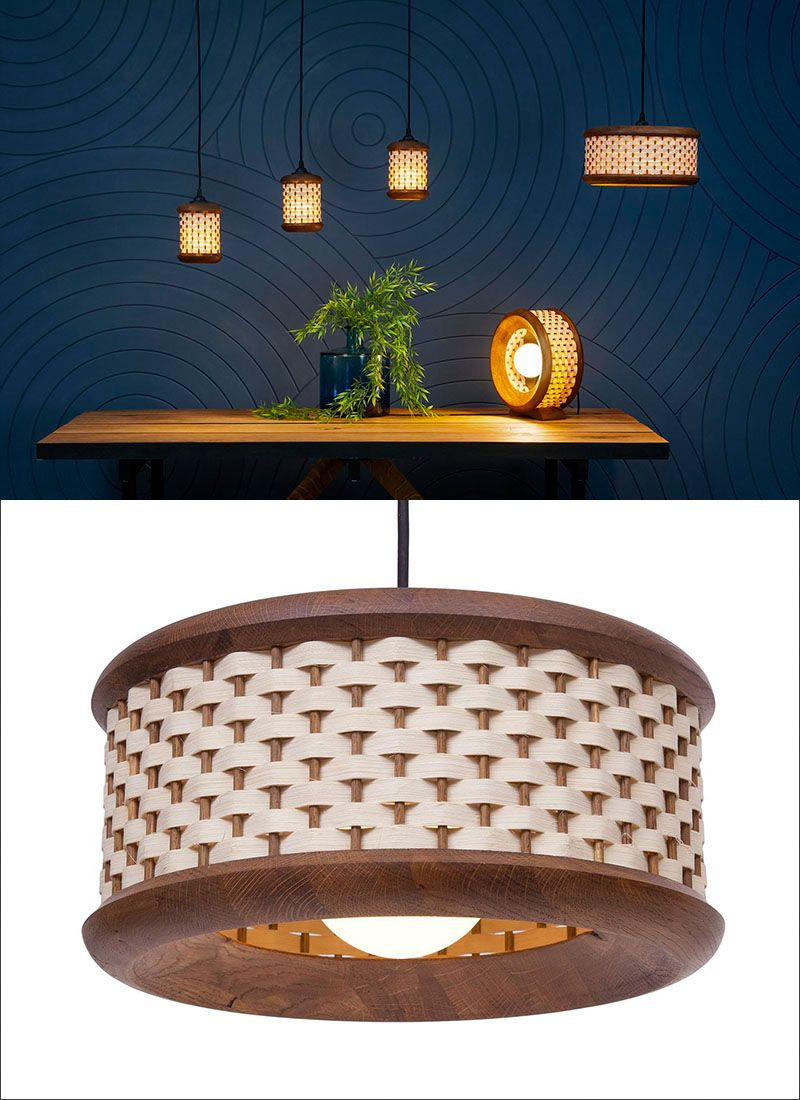 wood pendant lights that add a natural touch to your decor