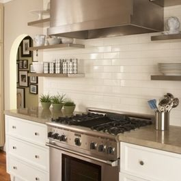 Add Heirloom Tiles Throughout For Textural Interest Final Photos Of The 3x9 Heirloom C Subway Tile Backsplash Kitchen Kitchen Tiles Backsplash Clay Backsplash