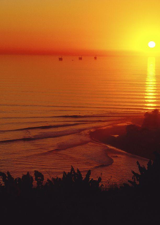 litoranea:  Sunset, fotografia de David Pu'u.