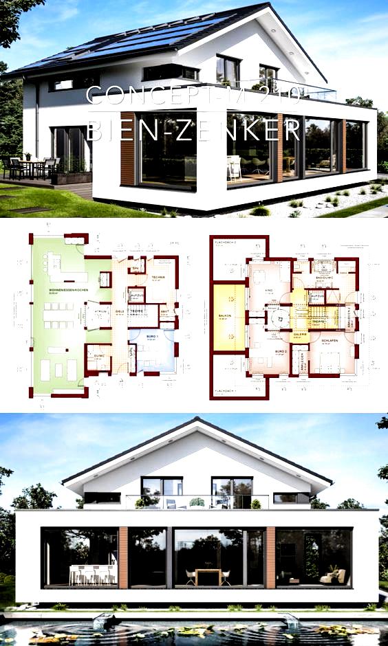 Modern Luxury Villa Architecture House Plans Concept M 210 Contemporary Dream Architecture Concept C In 2020 Architecture House House Plans Modern House Design
