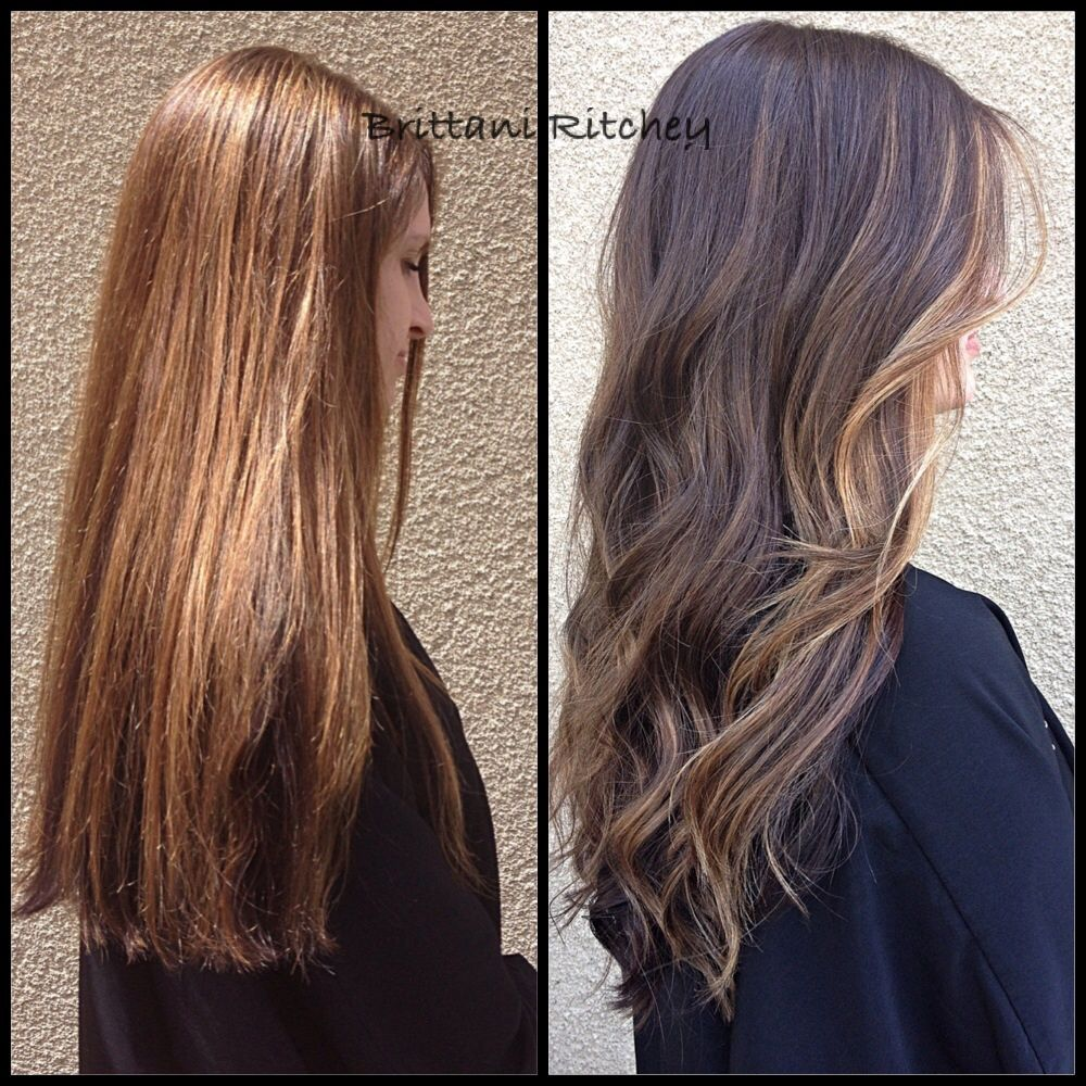 From Brassy Brown To Warm Chocolate Brown With Soft