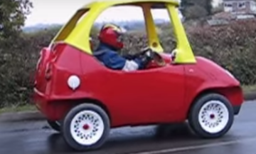 That Red And Yellow Toy Car You Loved Now Fits Adults And Goes 70