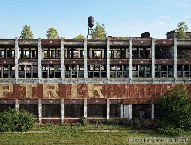 Packard Motor Car Company Detroit Mi Abandoned Abandoned