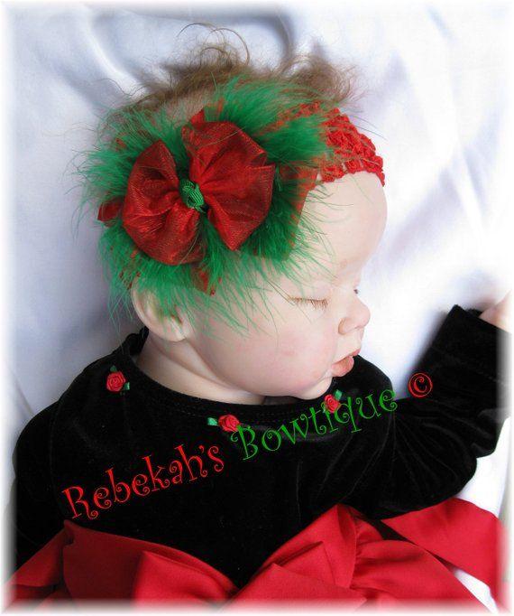ff36268225134 Christmas baby headband