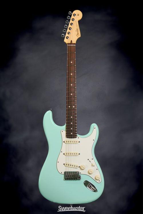 Fender Custom Shop Jeff Beck Signature Stratocaster Surf Green Fender Custom Shop Fender Stratocaster Blue Guitar